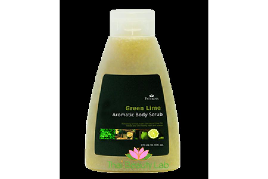 Арома-скраб для тела  Зелёный лайм